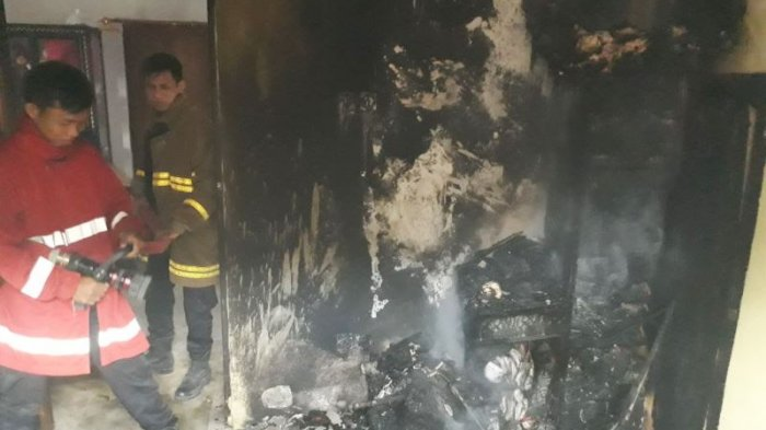 BPK Bergerak Cepat, Api Tak Sempat Menjalar ke Tempat Lain