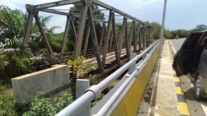 Jembatan Batu Harang Putus, PUPR Tanbu: Kerangka Jembatan Suka Damai Akan Dipindahkan