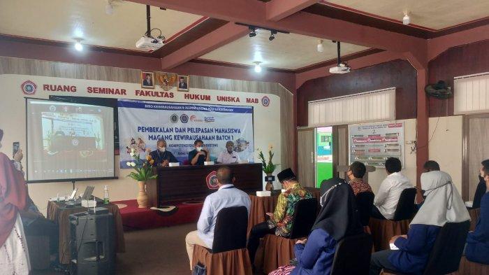 33 Mahasiswa Uniska Banjarmasin Magang dan Belajar Digital Marketing di WARKO.ID