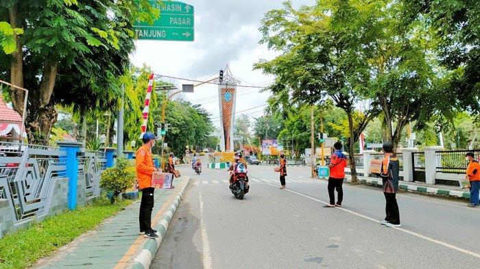 Kerukunan Barisan Pemadam Kabupaten HSS Galang Dana untuk Korban Banjir Kalteng