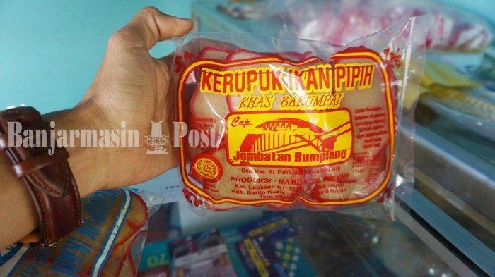 KalselPedia - Produk Kerupuk Ikan dari Kabupaten Batola