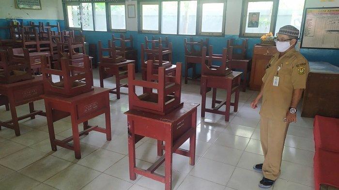 Masih PPKM Level 4, SD dan SMP di Banjarmasin Bersiap Laksanakan PTM Terbatas