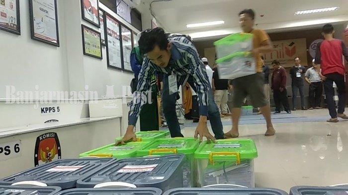 Dua Bakal Pasangan Calon Serahkan Berkas ke KPU Kota Banjarmasin di Hari Terakhir