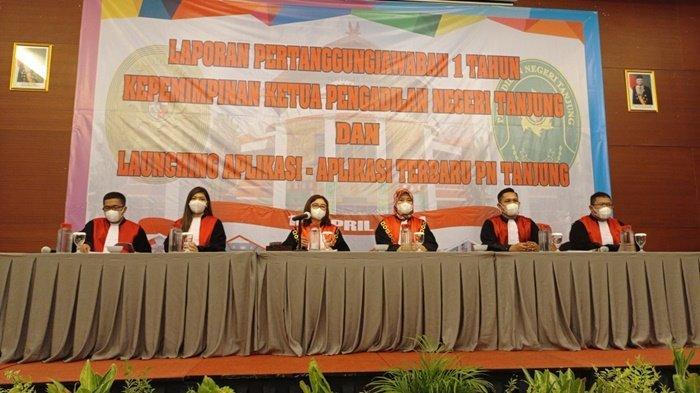 Ketua PN Tanjung Kalsel Sampaikan Laporan Pertanggungjawaban, Ini Capaian yang Diraih