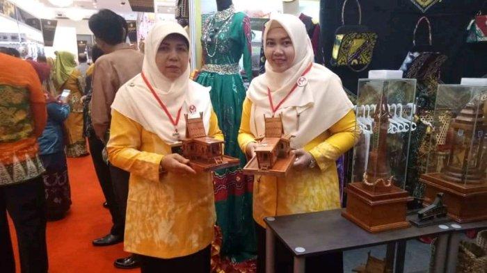 Dekranasda HSS Pamerkan Kerajinan Tradisional ini di JCC Senayan Jakarta