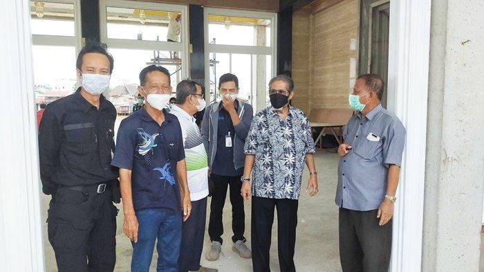 Pembangunan Masjid Terapung Sungai Jingah Banjarmasin Telah Mencapai 80 Persen