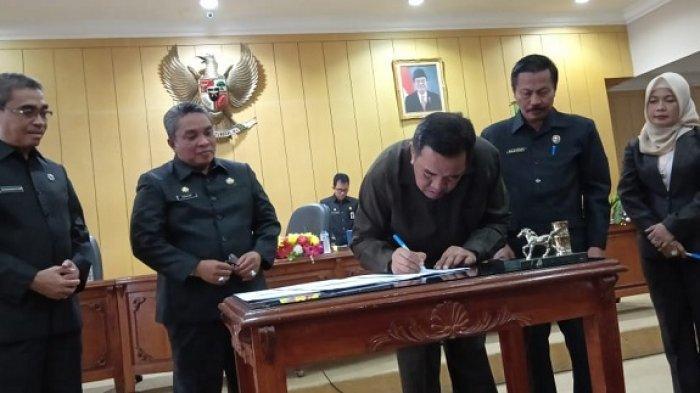 Kesepakatan KUA-PPAS Perubahan APBD 2019 Ditandatangani, Pendapatan Banjarbaru Naik Jadi Segini