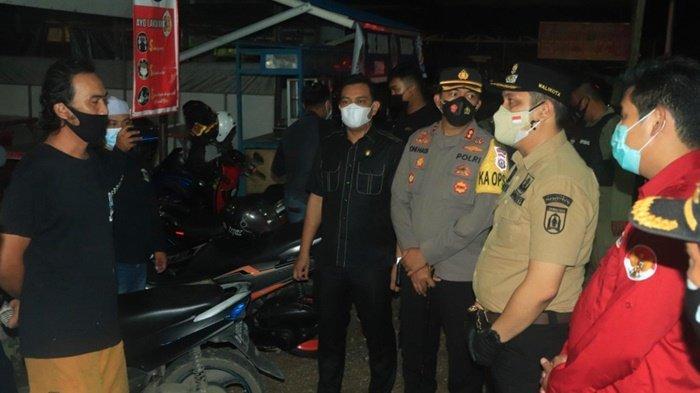 Ketua dan Wakil Ketua DPRD Kota Banjarbaru Ikut Pantau Kegiatan PPKM