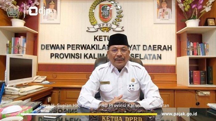 Ketua DPRD Kalsel H Supian HK Imbau Masyarakat Lapor Pajak Melalui e-Filing