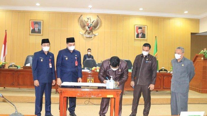 DPRD Kota Banjarbaru Sahkan Tiga Raperda Baru