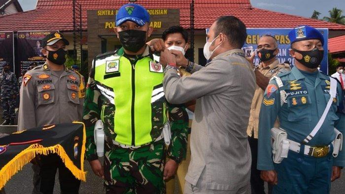 Ketua DPRD Kabupaten Kotabaru Hadiri Apel Gelar Pasukan Operasi Ketupat Intan
