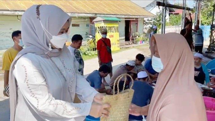 Idul Adha 2021, IJTI Kalsel Sumbang Sapi Kurban untuk Warga Gang TVRI Banjarmasin