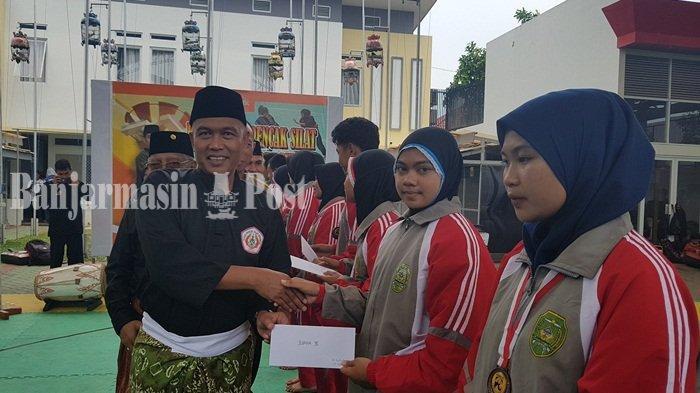 Wakil Bupati Nakhodai Organisasi Pendekar Tapin, Halaman Rumah Jadi Sarana Latihan Pencak SIlat