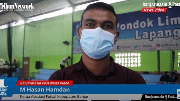 Ketua KONI Banjar dan Ketua Asosiasi Futsal Kabupaten Banjar, M Hasan Hamdan