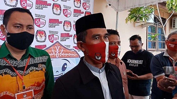 Laksanakan Tahapan PSU Pilgub Kalsel 2020, KPU Banjar Gelar Seleksi Tertulis PPK