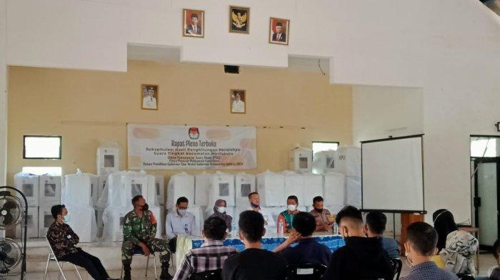 PSU Pilgub Kalsel, Rapat Pleno Terbuka di Kecamatan Martapura Sempat Molor karena Menunggu ini