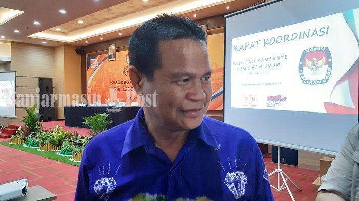 KPU Kalsel Anggarkan Rp 4 Miliar Fasilitasi Kampanye Paslon Pilkada Kalsel 2020