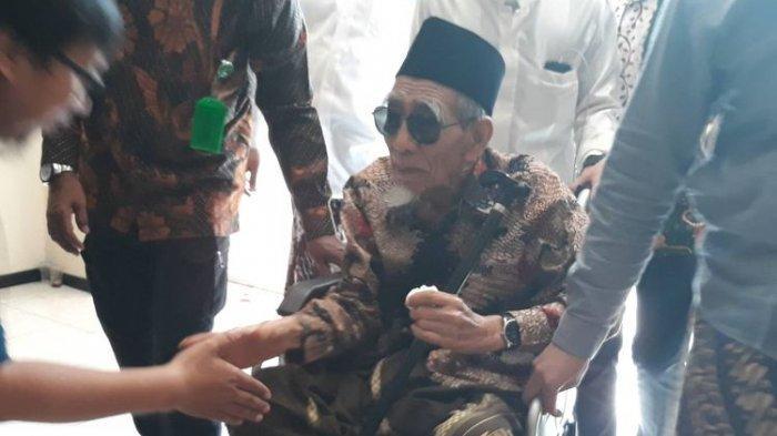 Kekecewaan KH Maimoen Zubair Usai Ketum PPP Romahurmuziy Kena OTT KPK di Kemenag Sidoarjo