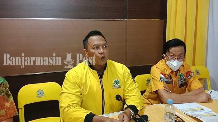 Golkar Wajibkan Keluarga Kader Mencoblos Saat PSU Pilgub Kalsel