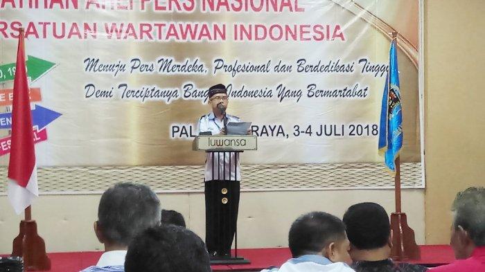 PWI Kalteng Gelar Pelatihan Ahli Pers Nasional di Palangkaraya