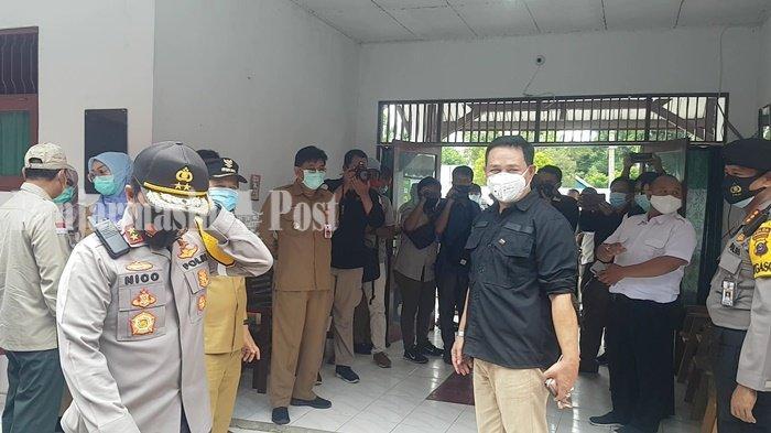 Satgas Covid-19 Kalsel Kunjungi Rumah Isolasi Berkelompok di Kabupaten Tapin