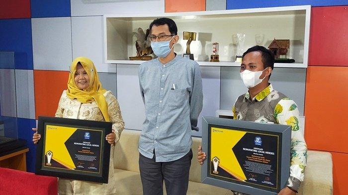 Di BTalk, 2 Warga Kalsel Terima Penghargaan Local Heroes Award dari Tribun Network
