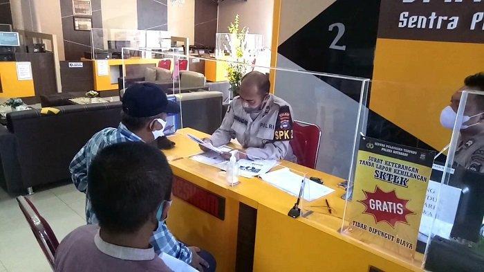 Tim 2BHD Laporkan Ketua Bawaslu ke Polres Kotabaru, Terkait Dugaan Pencemaran Nama Baik