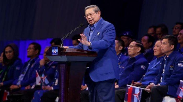 SBY Elus-elus Dada Lihat Bendera Demokrat Dirusak, Pertanyakan Apakah Masyarakat Riau Sudah Berubah?