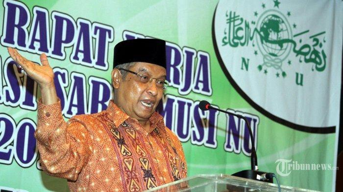 Said Aqil Siradj Bantah Kabar Ada Ancaman Pengurus PBNU Jika Mahfud MD Jadi Cawapres Jokowi