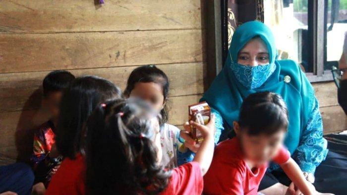 Ketua TP PKK Kotabaru Bekerja dengan Dinas P3AP2KB Bina Anak Terlantar