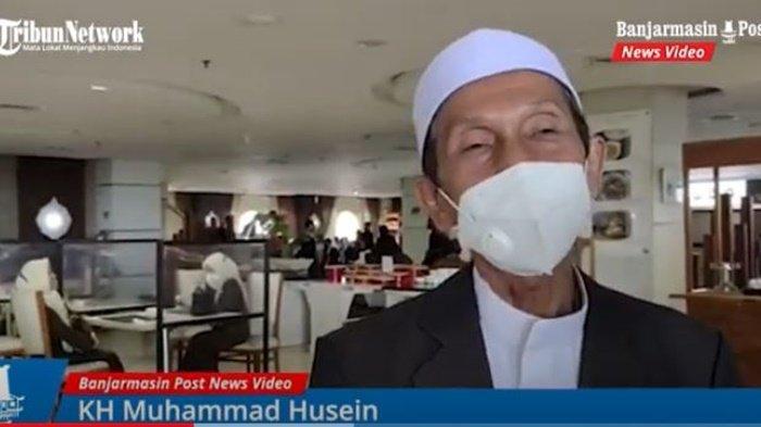 Ketua Yayasan Darussalam Martapura, KH Muhammad Husein.