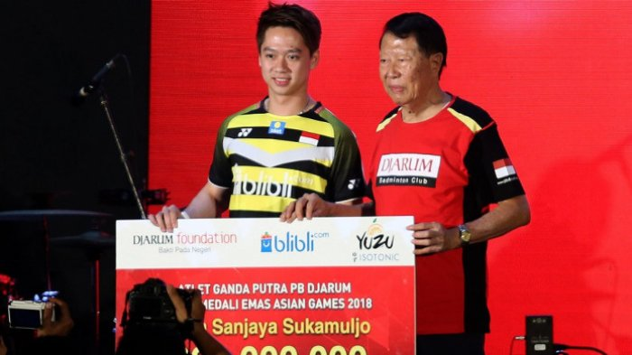 Kevin Sanjaya dkk Dapat Bonus Lagi Rp 1,2 Miliar karena Sukses di Asian Games 2018