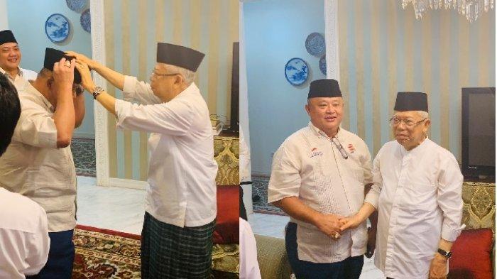 Kejutan dari KH Maaruf Amin Jelang Hasil Sidang MK Sengketa Pilpres 2019, Kopiah Untuk Semua