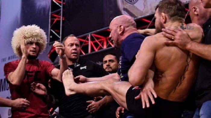 Tanding Ulang Khabib Nurmagomedov vs Conor McGregor Terbuka, Ini Penjelasan Ayah Khabib Nurmagomedov