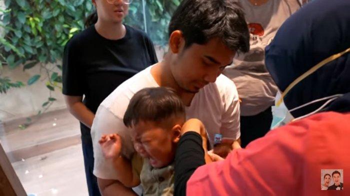 Perubahan Tubuh Kiano Saat Vaksin Kejutkan Dokter, Teriakan Putra Baim Wong Buat Paula Bingung