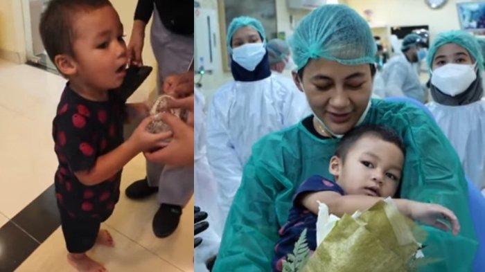 Kelakuan Kiano Baim Wong di Klinik Berujung Insiden Terjepit Kerangka Gigi, Paula Panik Tiup Jari