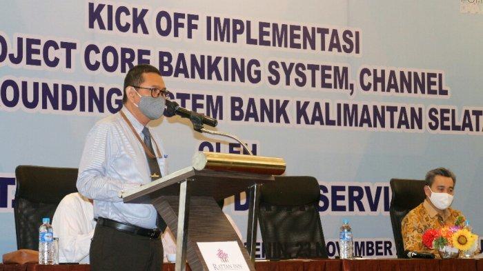 Menuju Digital Banking, Bank Kalsel Gelar Kick Off Implementasi Core Banking System