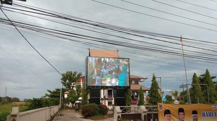 Lebih Fresh di Tahun 2019, Dispersip Kalsel Tambah Videotron, Renovasi Kids Library pun Rampung