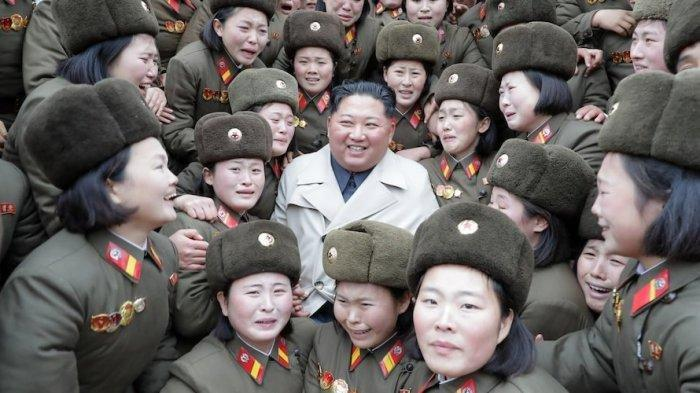 Pasca Absen 3 Minggu Akhirnya Kim Jong UN Muncul Gelar Gebrakan Militer Ini