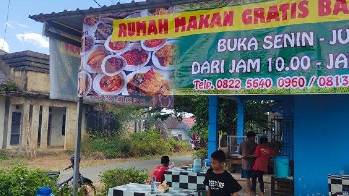 Pemuda Banjarbaru Ini Buka Rumah Makan Gratis, Pengunjung Juga Boleh Bungkus