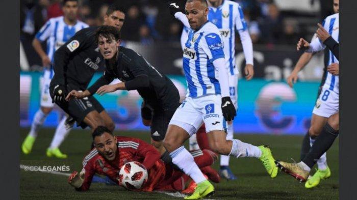 Hasil 16 Besar Copa del Rey - Minus Sergio Ramos, Real Madrid Takluk di Kaki Leganes