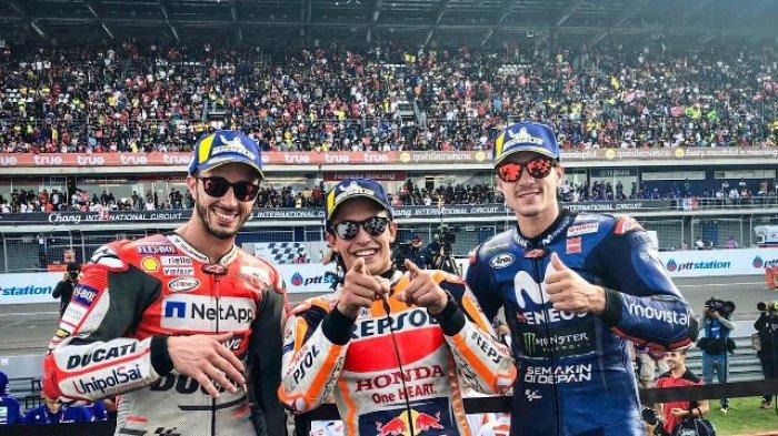 Marc Marquez Nobatkan MotoGP Thailand 2018 Sebagai Seri Balapan Terbaik, Ini Alasannya