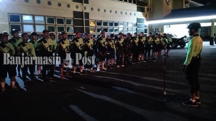 Danrem 101 Antasari Pimpin Anggotanya Gowes Menuju Markas Rindam VI Mulawarman
