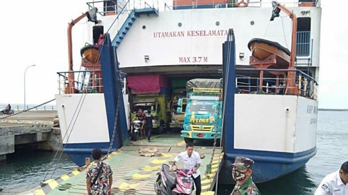 KMP Awu-awu Kembali Beroperasi Layani Pelayaran Rute Batulicin Kalsel-Garongkong Sulawesi Selatan