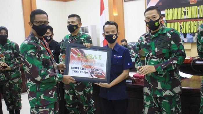 Jurnalis Banjarmasin Post Group Raih Juara Pertama Lomba Karya Jurnalistik TMMD ke-110