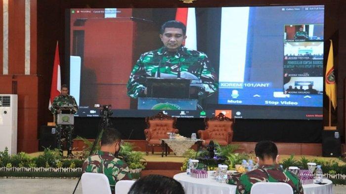 Rangkaian Kegiatan Pembekalan Pencegahan Paham Radikalisme Di Tubuh TNI AD Korem 101 Antasari