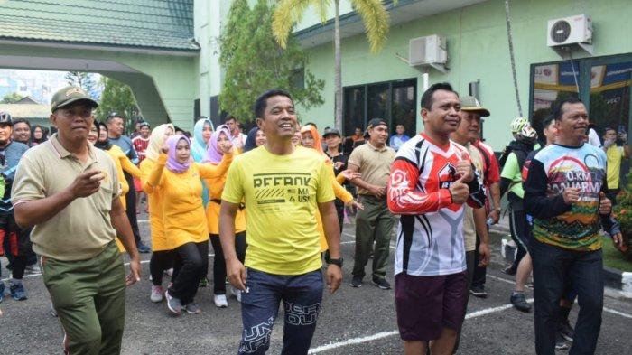 Serunya Panggung Prajurit Kodim dan Polresta Banjarmasin