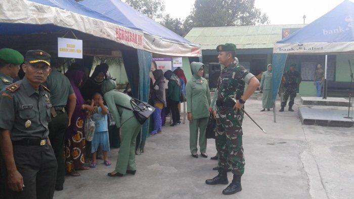 Kodim 1007/Banjarmasin Gelar Bazar Ramadhan dan Bagi Takjil
