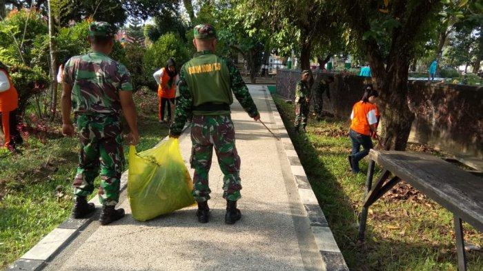 Kodim 1008 Tanjung Ambil Bagian Dalam Gerakan Jumat Bersih