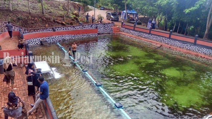 Segarnya Air Pemandian Kolam Belanda Situs Sejarah Peninggalan Belanda di Mandingin Kabupaten Banjar
